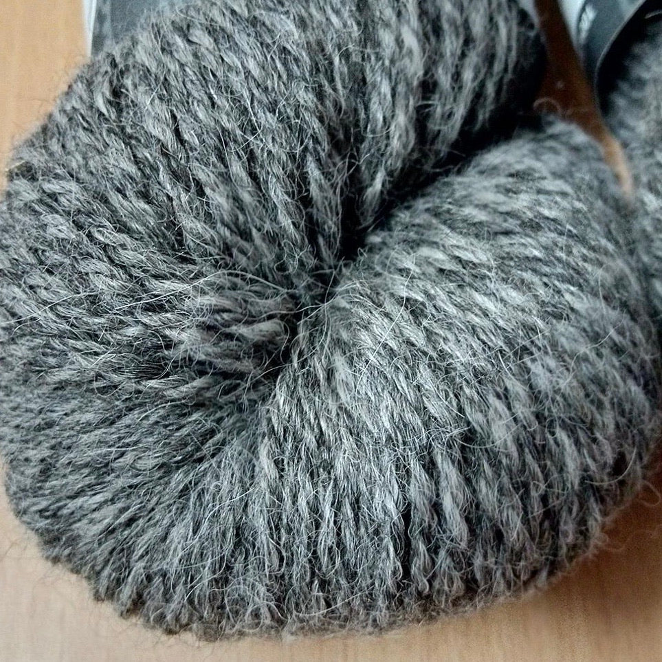 Adagio Mills 8ply Alpaca Duet Tweed yarn 100g skeins