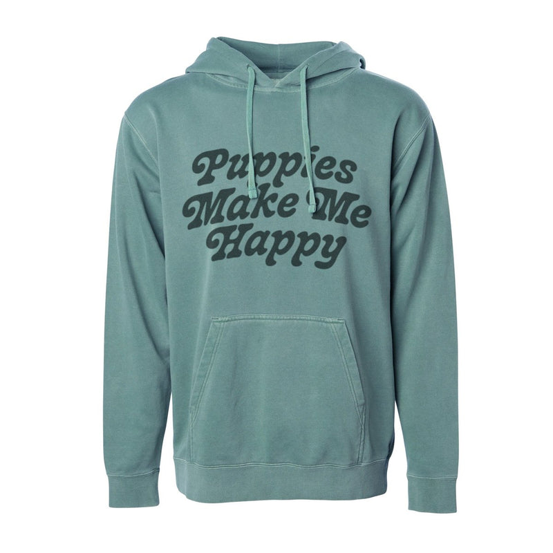 Puppies are Far Out | Uni-Sex Hoodie - Puppies Make Me Happy