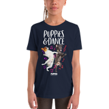 DANCE Puppies | Youth Tee - Puppies Make Me Happy