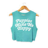 Puppies Are Far Out  | Crop Top