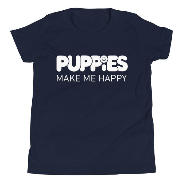 Kids Only | Youth Tee - Puppies Make Me Happy