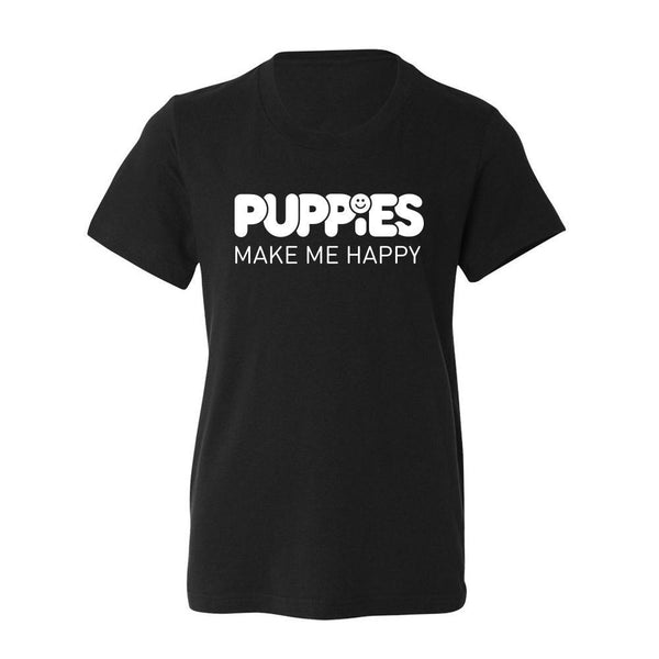 Kids Only | Toddler Tee - Puppies Make Me Happy