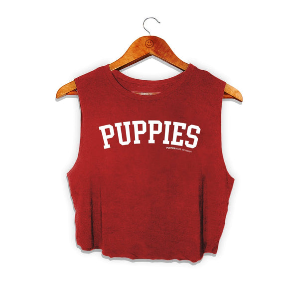 Collegiate Puppies | Crop Top