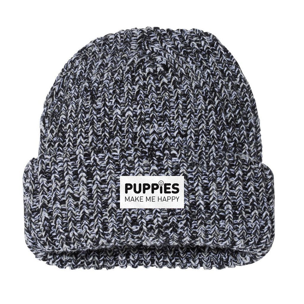 White Label | Midwest Marl Beanie - Puppies Make Me Happy