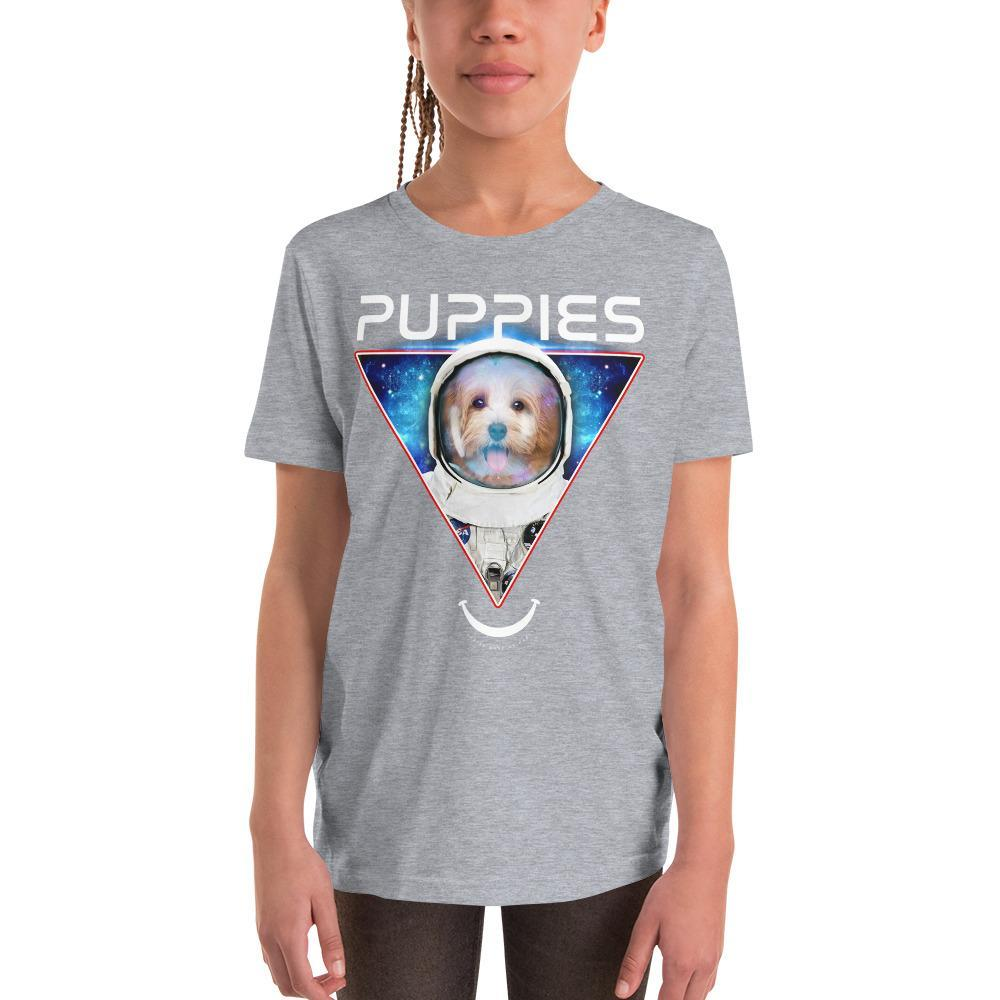 Deep Space K9 | Youth Tee - Puppies Make Me Happy