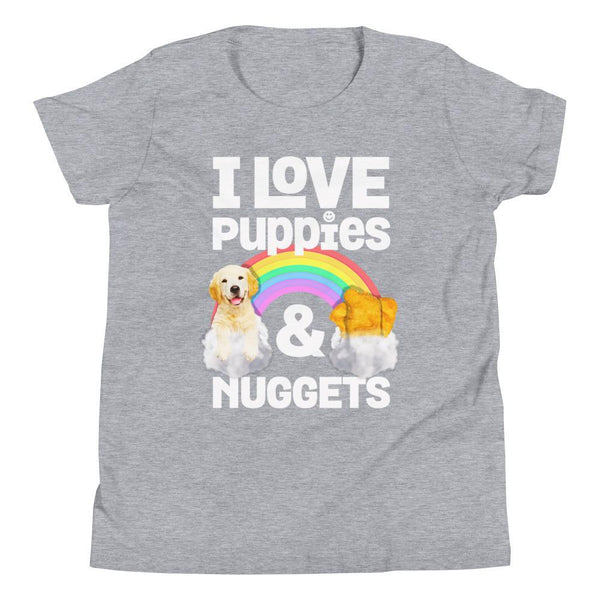 Nugs | Youth Tee - Puppies Make Me Happy