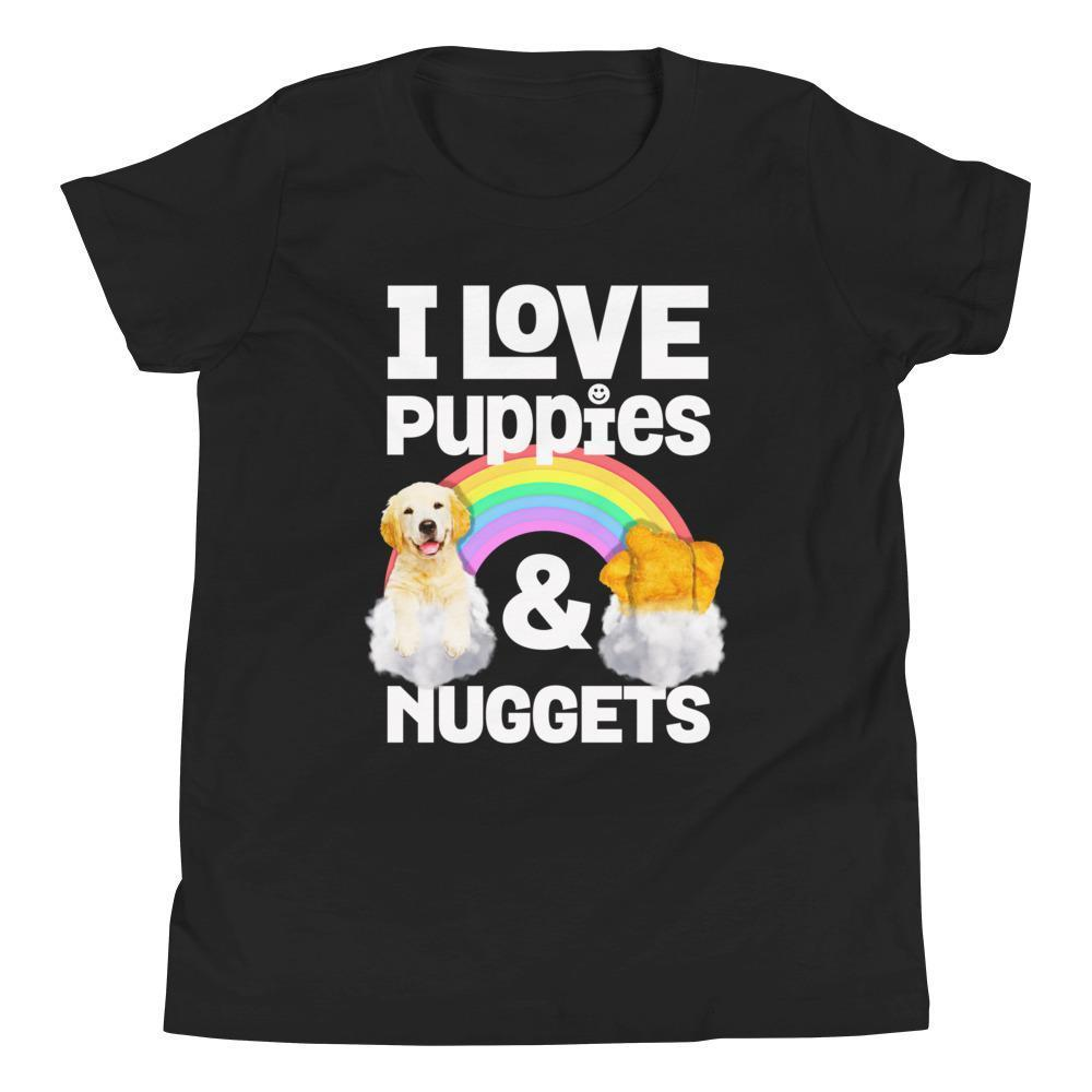 Nuggets |  Uni-Sex Tee - Puppies Make Me Happy