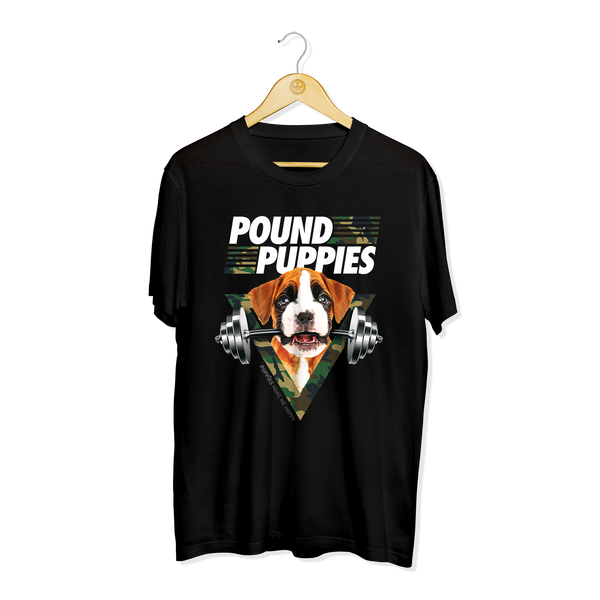Pound Puppies | Men's Tee - Puppies Make Me Happy