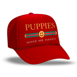 Pup Lux  | Foam Trucker - Puppies Make Me Happy