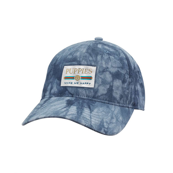 Pup Lux Gold Label Tie Dye Dad Hat