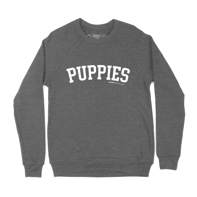 Collegiate Puppies | Crewneck Sweatshirt