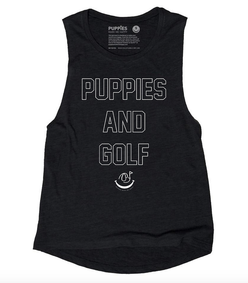 Puppies & Golf 3.0  | Muscle Tank
