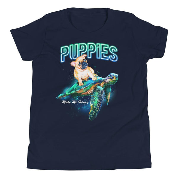 Sea Turtles are Cool | Youth Tee - Puppies Make Me Happy