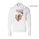 Your Dog Here - Bride - Hoodie - Puppies Make Me Happy