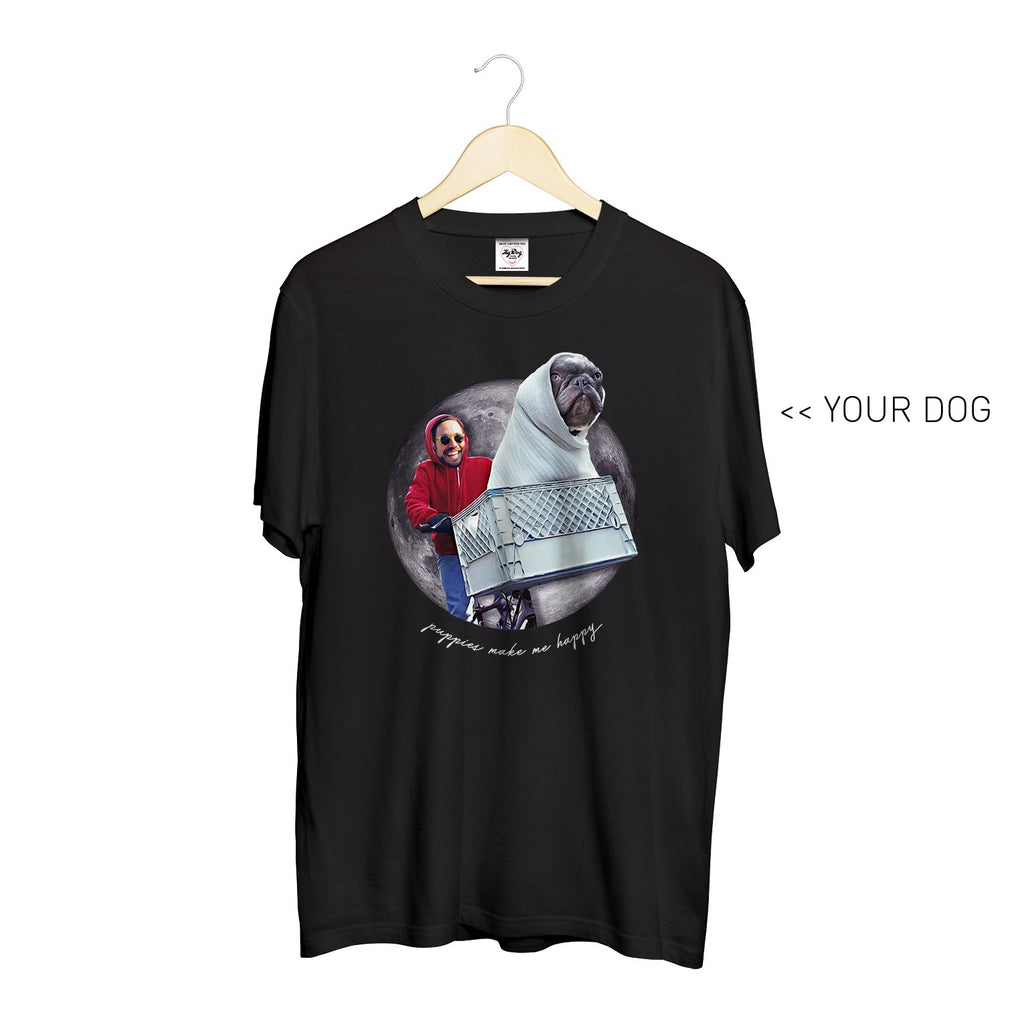Your Dog Here - Phone Home - Crewneck - Puppies Make Me Happy