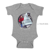 Your Dog Here - Phone Home - Kid Onesie