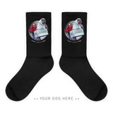 Your Dog Here - Phone Home - Socks - Puppies Make Me Happy