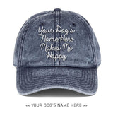 Your Dog Here - Love Letter - Vintage Dad Hat - Puppies Make Me Happy