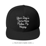 Your Dog Here - Love Letter - Snapback - Puppies Make Me Happy