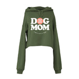 Your Dog Here - Dog Mom - Crop Top Hoodie