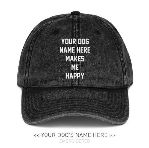 Your Dog Here - My Motto - Vintage Dad Hat
