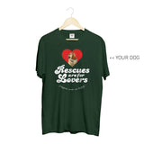 Your Dog Here - Rescues Are For Lovers - Crewneck