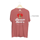 Your Dog Here - Rescues Are For Lovers - Crewneck - Puppies Make Me Happy