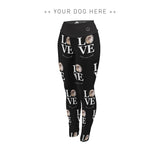 Your Dog Here - True Puppy Love - Adult Leggings - Puppies Make Me Happy