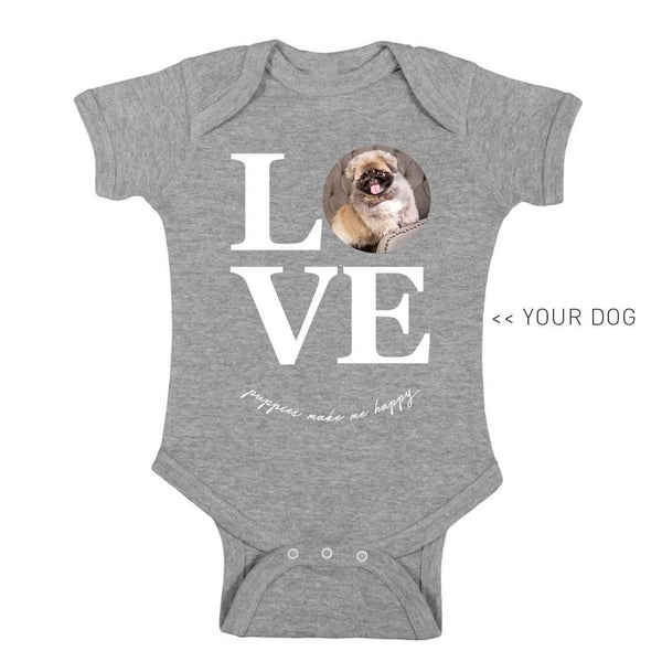 Your Dog Here - True Puppy Love - Kid Onesie