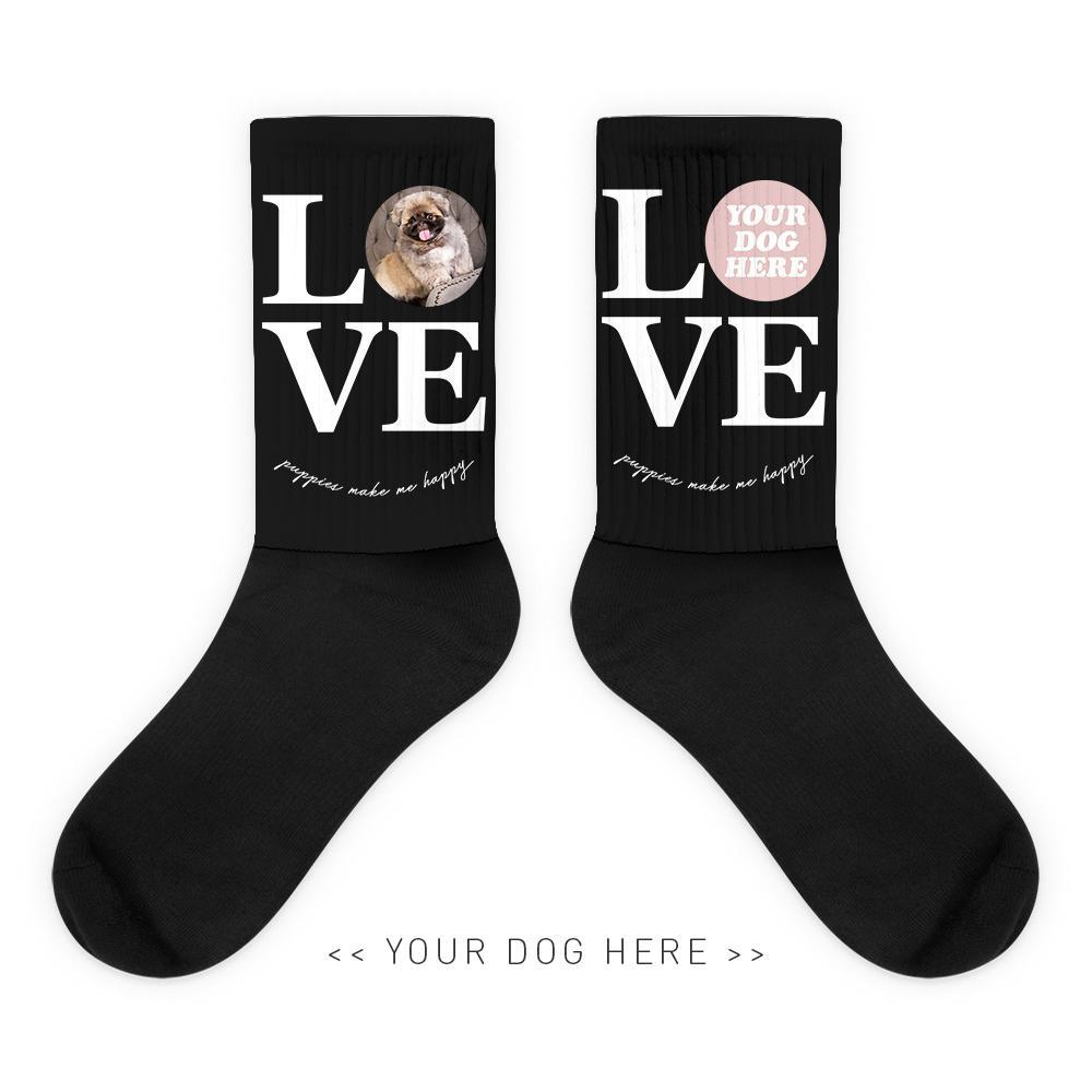 Your Dog Here - True Puppy Love - Socks - Puppies Make Me Happy