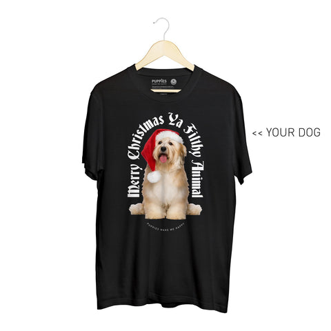 Your Dog Here - My Christmas Miracle | Heavyweight Uni-Sex Tee
