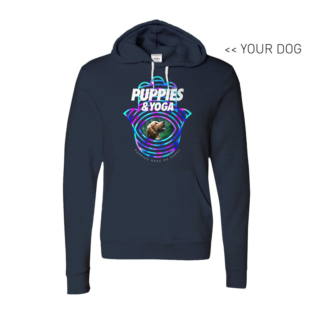 Your Dog Here - Your Dog and Yoga - Hoodie