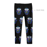Your Dog Here - Your Dog and Yoga - Youth Leggings