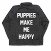 Puppies Club Coach Jacket -  -  - Puppies Make Me Happy - 3