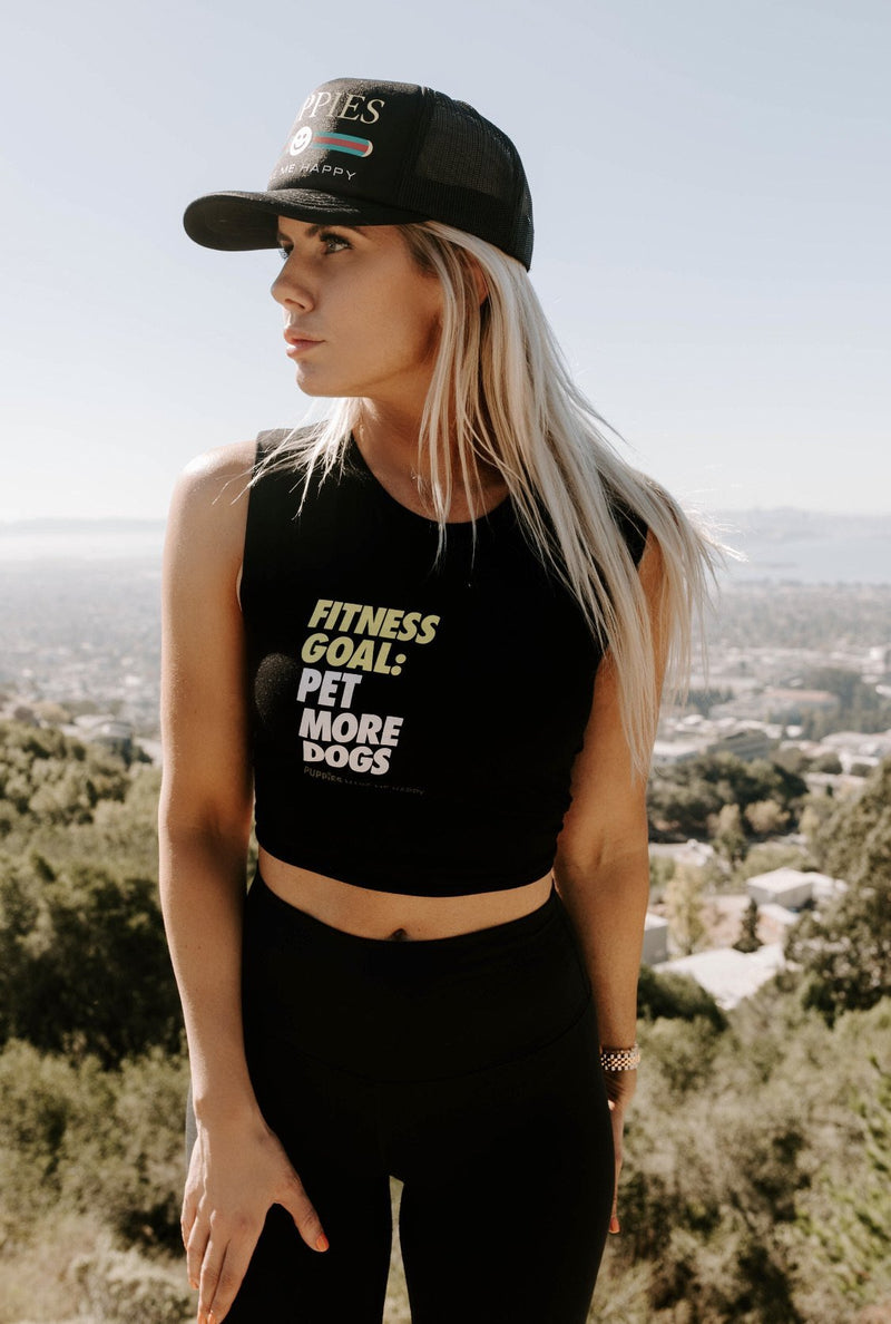Fitness Goals | Crop Top