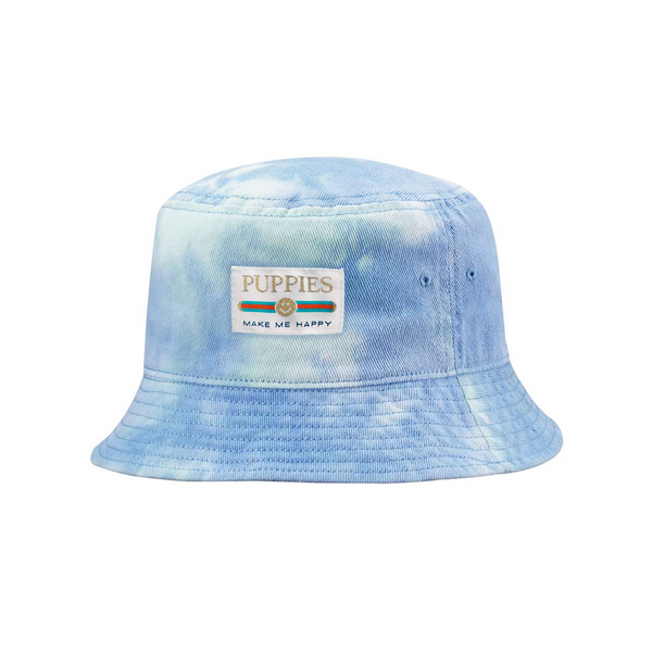 Pup Lux Gold Label Tie Dye Bucket Hat