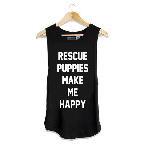 Rescue Puppies - Women's Sleeveless