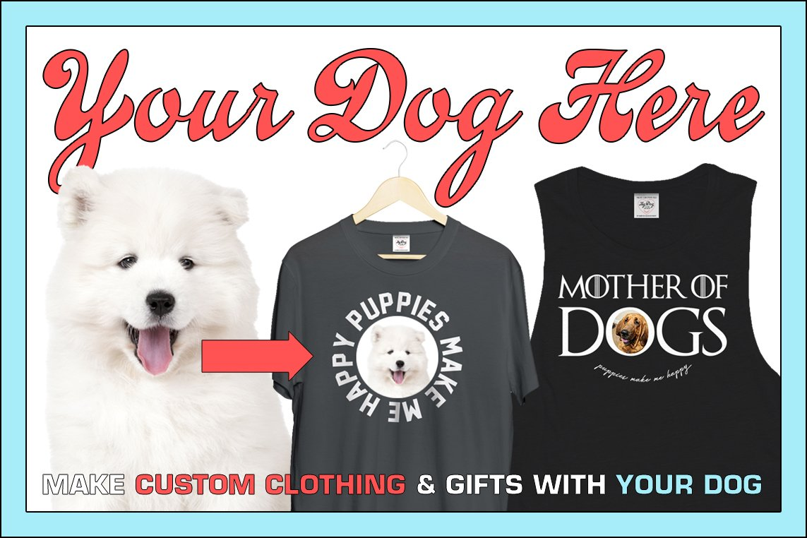 Your Dog on a Shirt