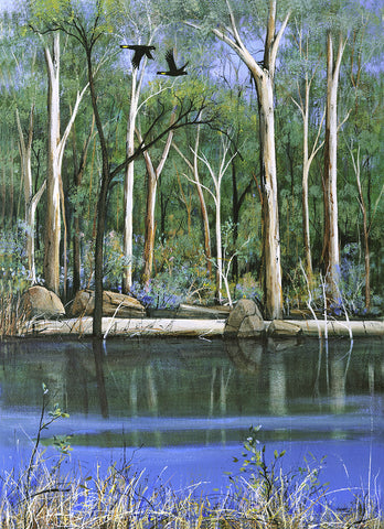 """Along the Blackwood River"" - Windram Art"