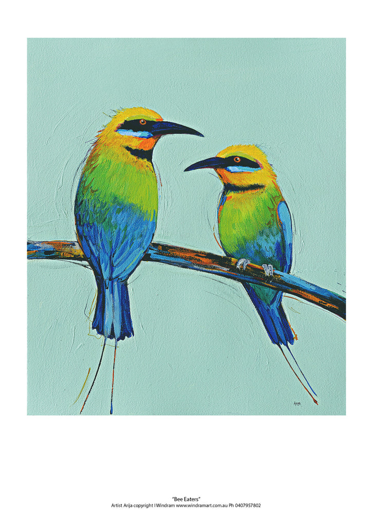 Bee Eaters - Windram Art