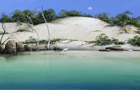 """Coastal Dunes"" Giclee - Windram Art"