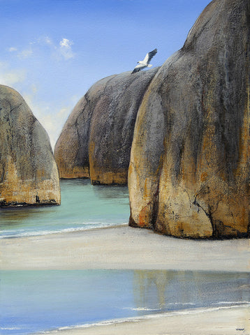 """Elephant Rocks Study"" Print on Canvas - Windram Art"