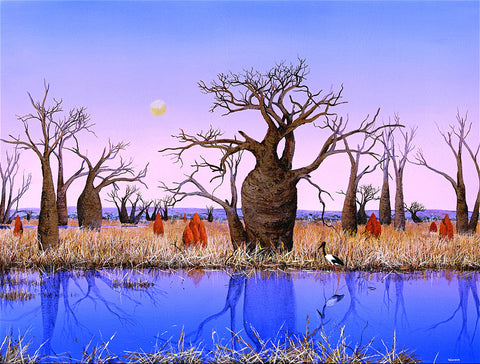 """Kimberley Billabong"" - Windram Art"