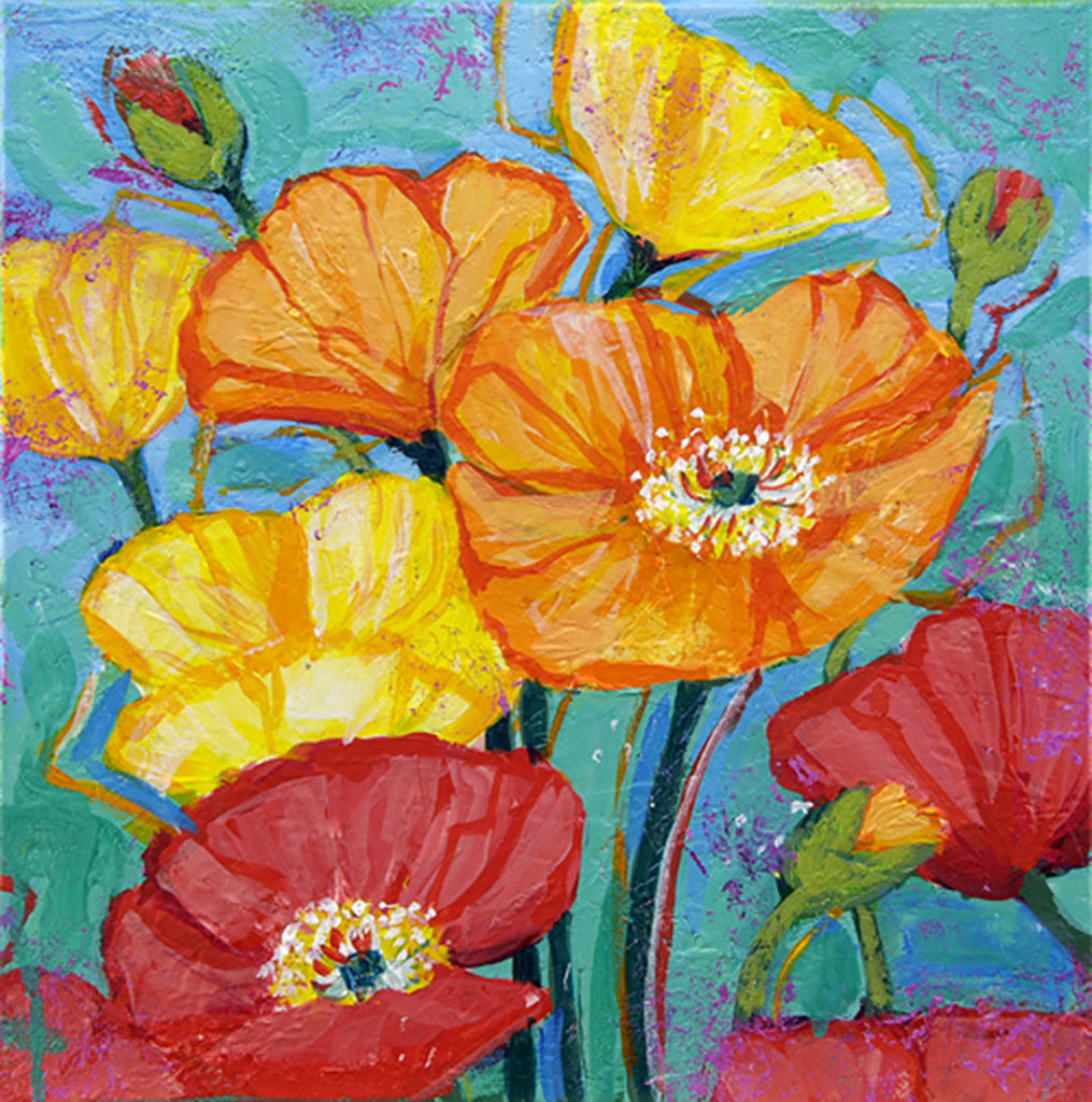 """Poppies I"" - Windram Art"