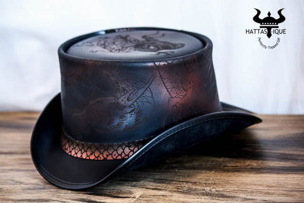 Balance Leather Top Hat