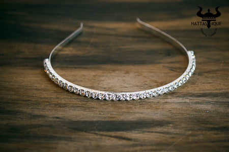 Single Row Rhinestone Shimmering Headband