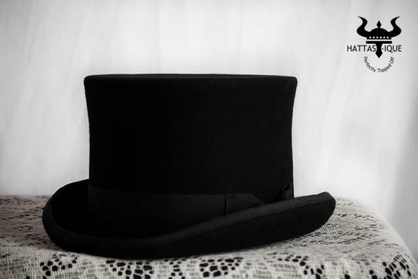 Felt Top Hat side view