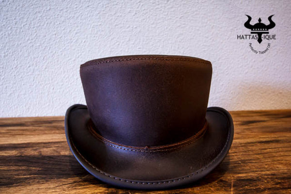 Brown Bromley Top Hat