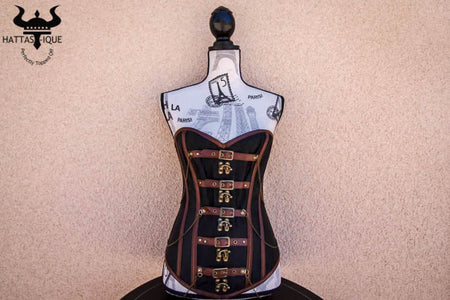 Warrior Goddess Steampunk Corset
