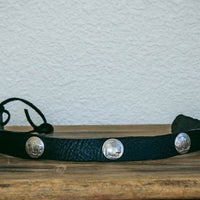 buffalo nickle hatband front view